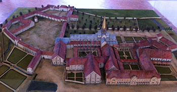 model of citeaux abbey